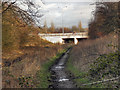 SJ7893 : Path Under the Motorway by David Dixon