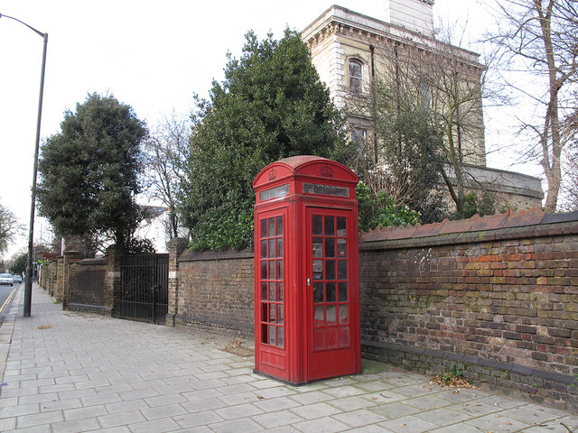 Listed phone box