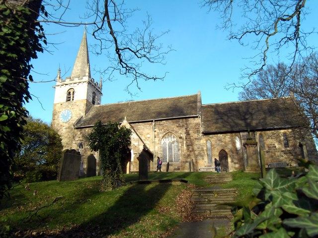 All Saints Church Ledsham