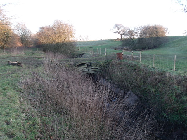 Farm Bridge over Leighton Brook