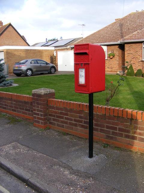 2 Holly Lane Postbox