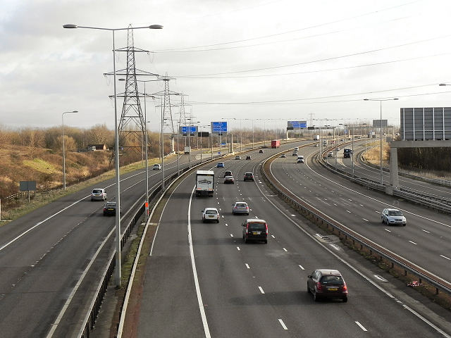 M60, Ashton-on-Mersey