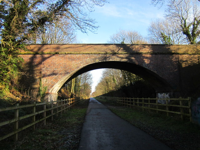 Bridge over the Millennium Greenway