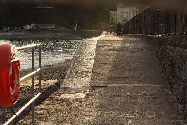 Coast path at Dawlish