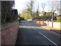 SJ4468 : School Lane, Guilden Sutton by Jeff Buck