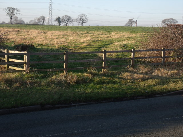 Now fenced off  the old Drive way to Totty's Hall farm