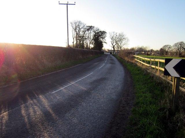 Wicker Lane near Guilden Sutton