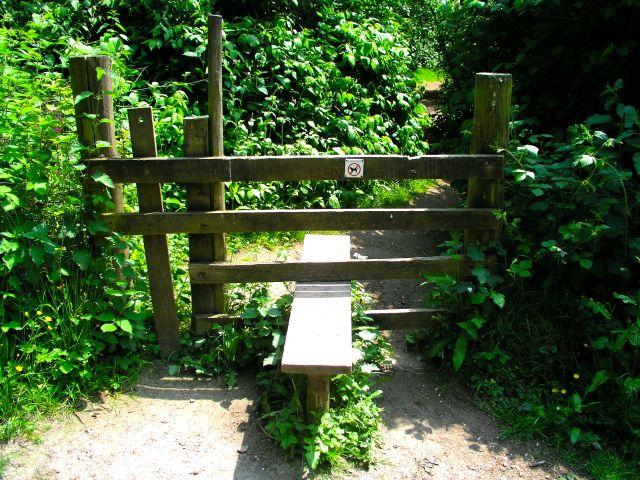 Back entrance to Stourhead gardens