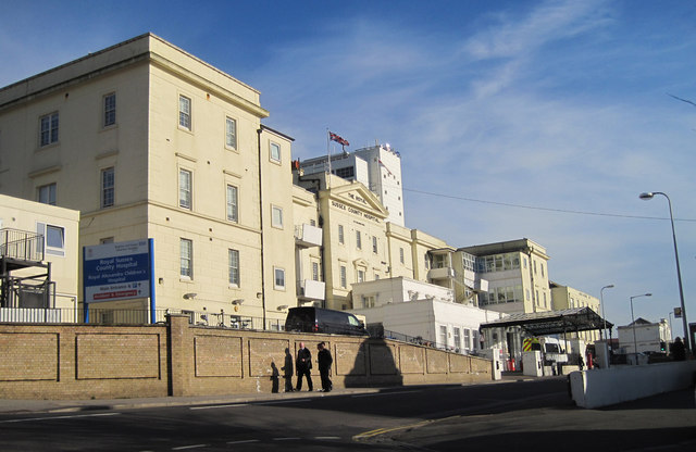 Royal Sussex County Hospital, Brighton