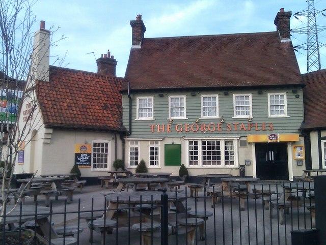 The George Staples pub at Blackfen