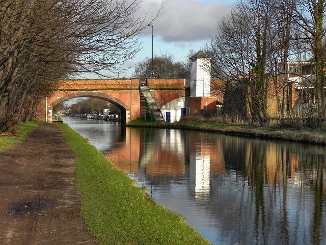 Bridgewater Canal, Marsland Bridge