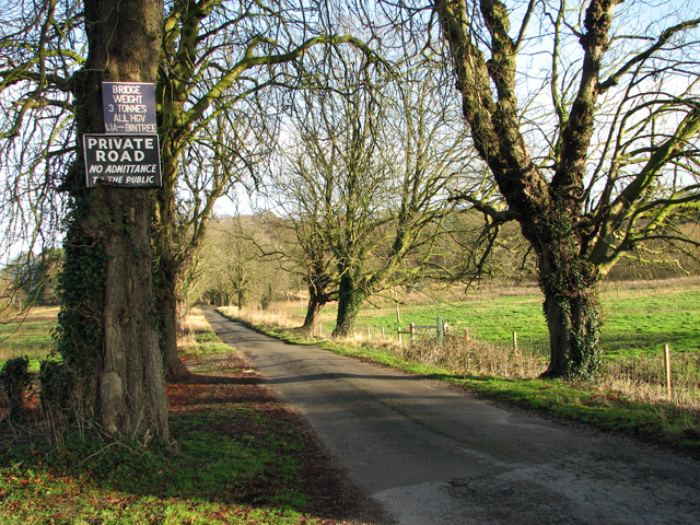 Road to Dell View Farm