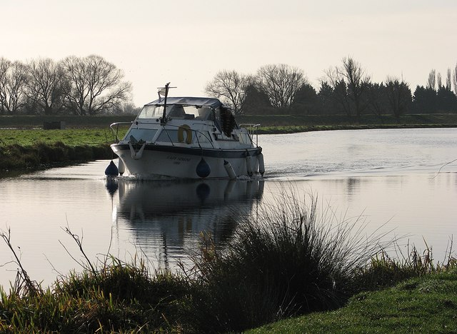 Cruising towards Ely in January