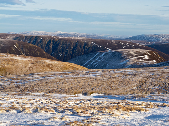 View from A' Bhuidheanach Mhòr