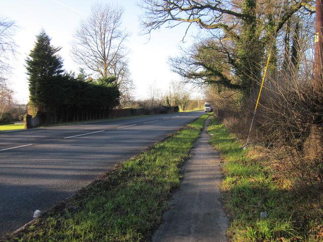 The A51 (Holme Street) near Tarvin