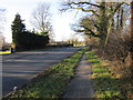 SJ4766 : The A51 (Holme Street) near Tarvin by Jeff Buck
