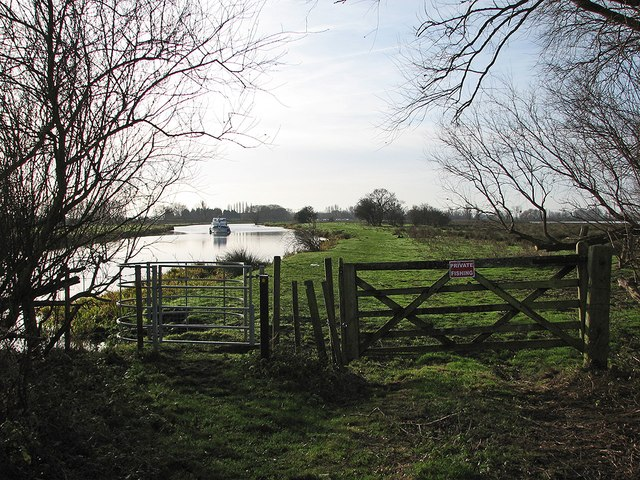 Fen Rivers Way in January