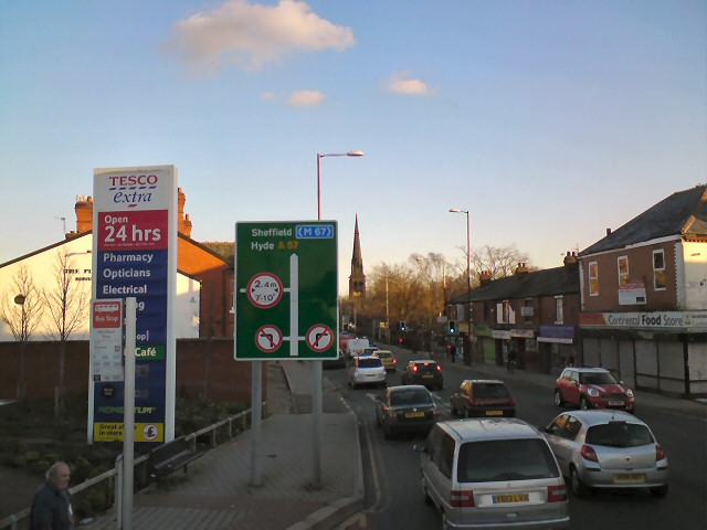 Hyde Road, Gorton
