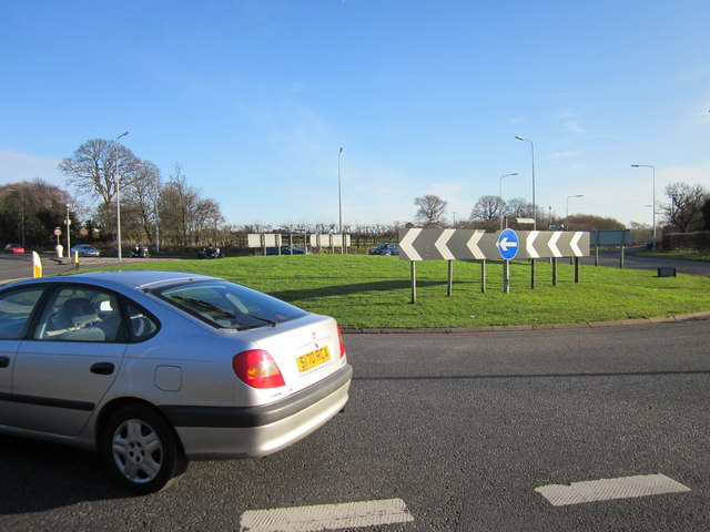 The Tarvin Roundabout