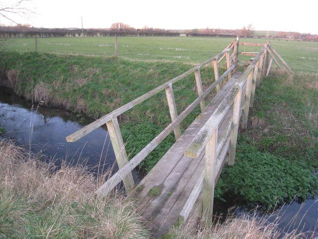 Footbridge over the River Greet