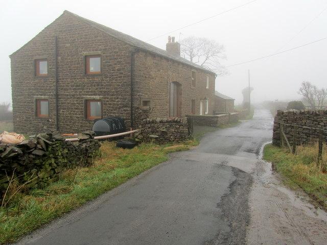 Flass House Farm in the Mist