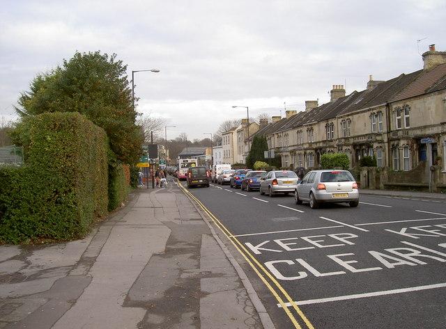 Upper Bristol Road, Bath