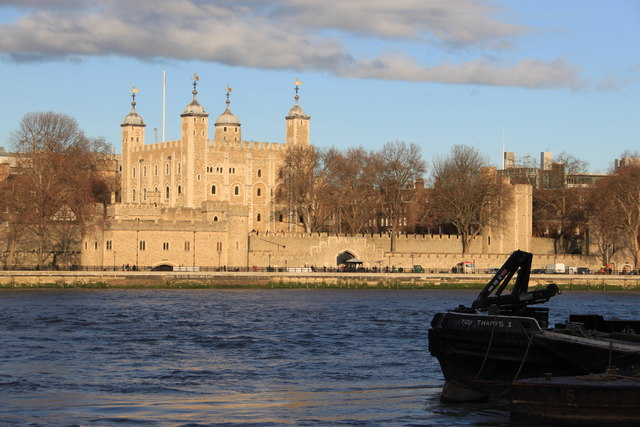 The Tower of London from City Hall