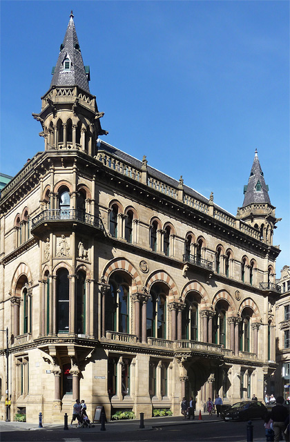 Former Reform Club, King Street, Manchester