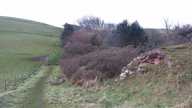 Outcrop by the Mire Loch