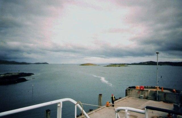 Pier at Lochmaddy