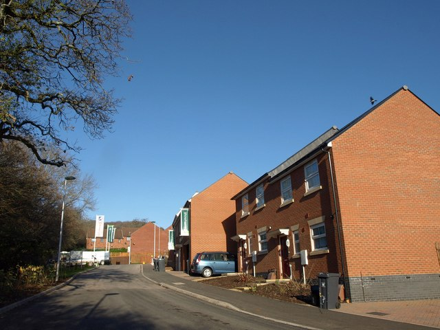 New housing, Sidmouth