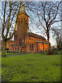 SJ7688 : St George's Church, Altrincham by David Dixon