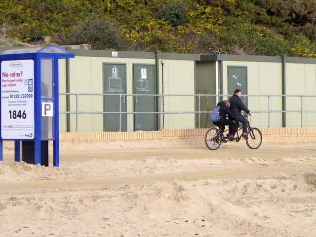 Bicycle made for two, Boscombe