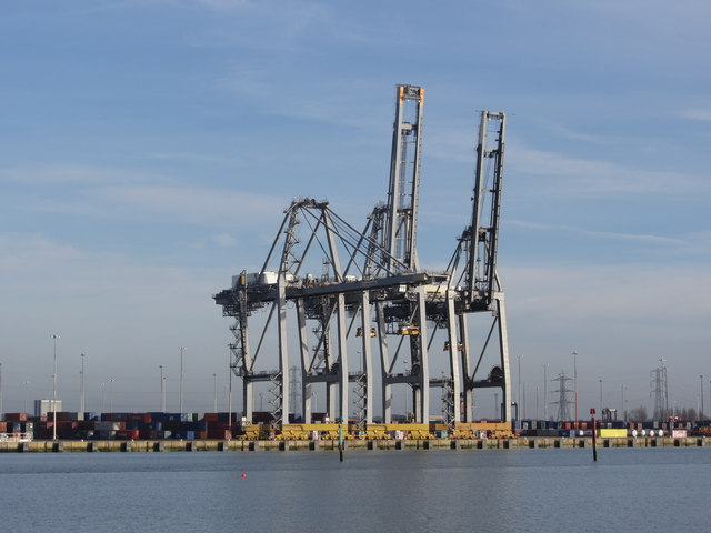 Container Dock, Southampton