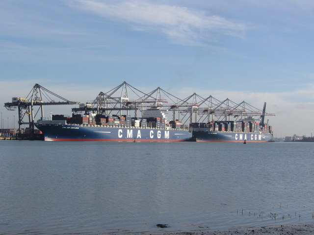 Container Port, Southampton