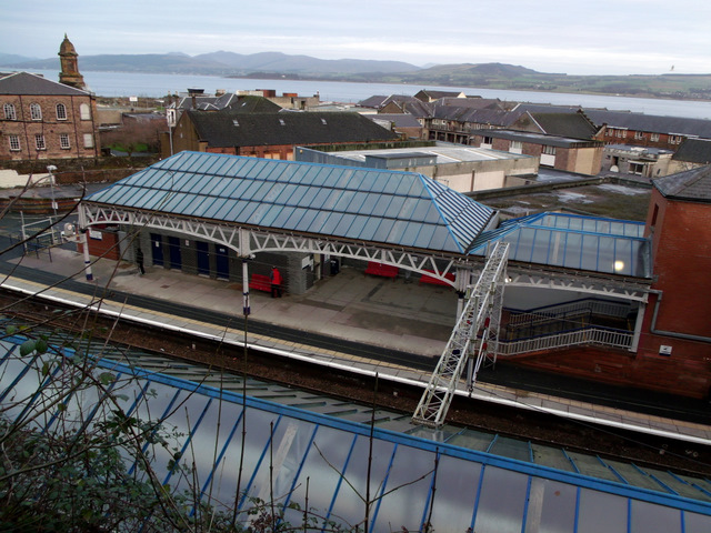 Port Glasgow railway station