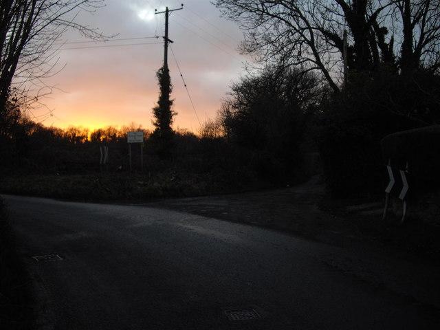 """No through road to Dinas Powys"""