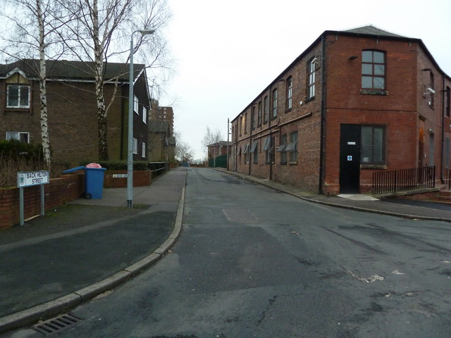 Back Hilton Street, Broughton, Manchester