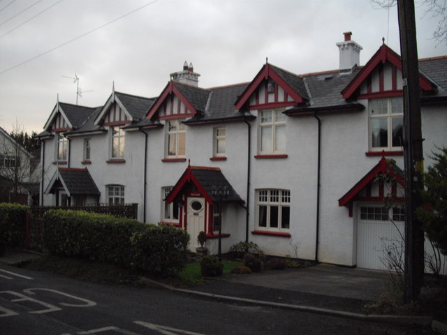 Houses in Swanbridge Road, Sully