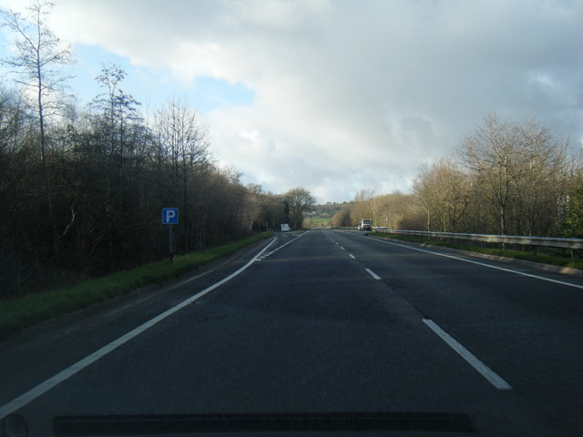 A494 looking west