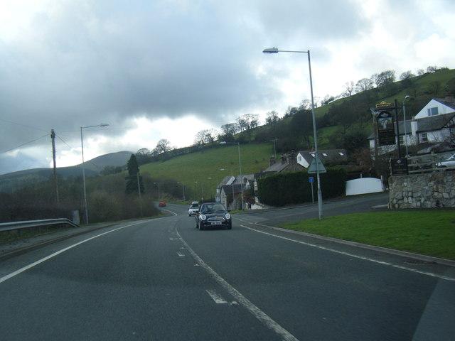A494 at Llanferres