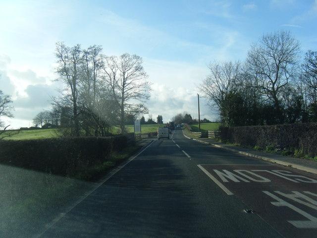 A494 near Pentre