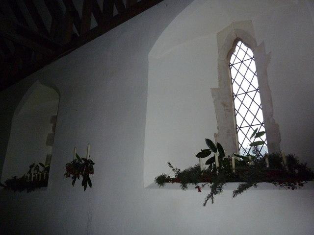 Saint Peter ad Vincula, Colemore- Christmas decorations (iii)