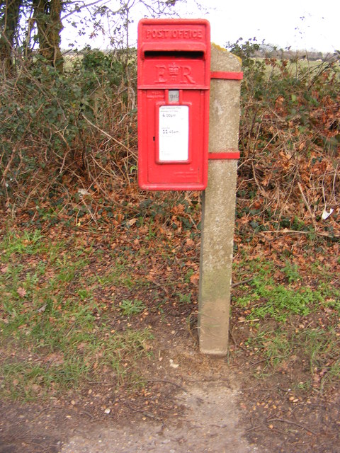 Rush Cottage Bent Lane Postbox