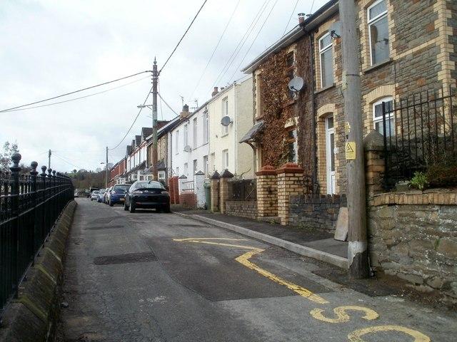 Machen : Wyndham Street west of Ebenezer church