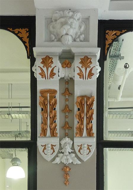 Detail of Barton Arcade, St Ann's Square, Manchester (2)