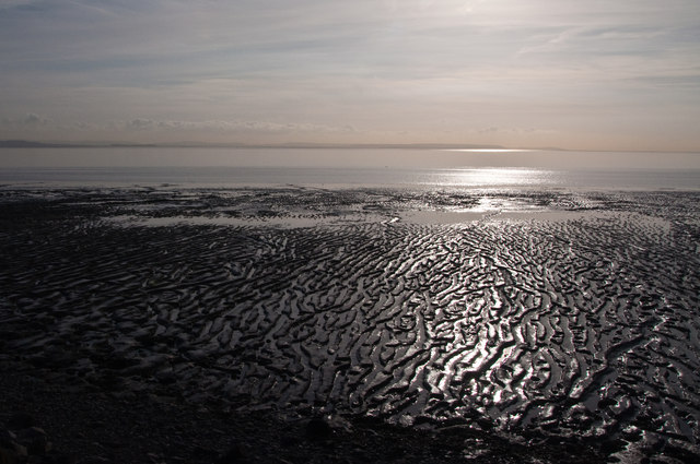 Mudflats at Goldcliff