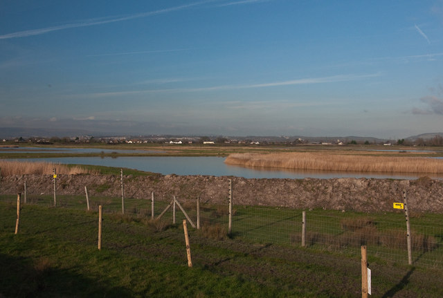 Lagoons at Goldcliff Wetland Reserve