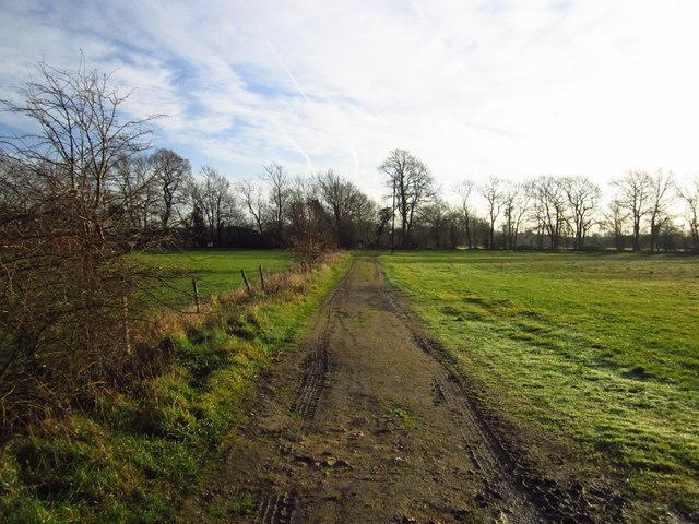 Track & Public Footpath