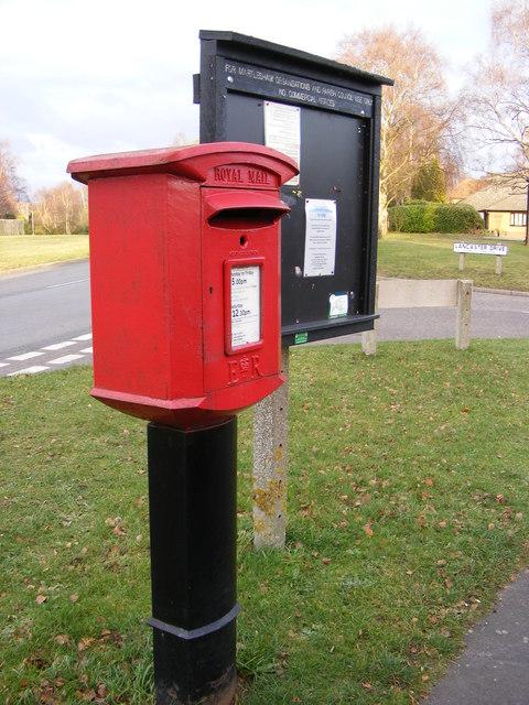 Martlesham Village Notice Board & Lancaster Drive Postbox